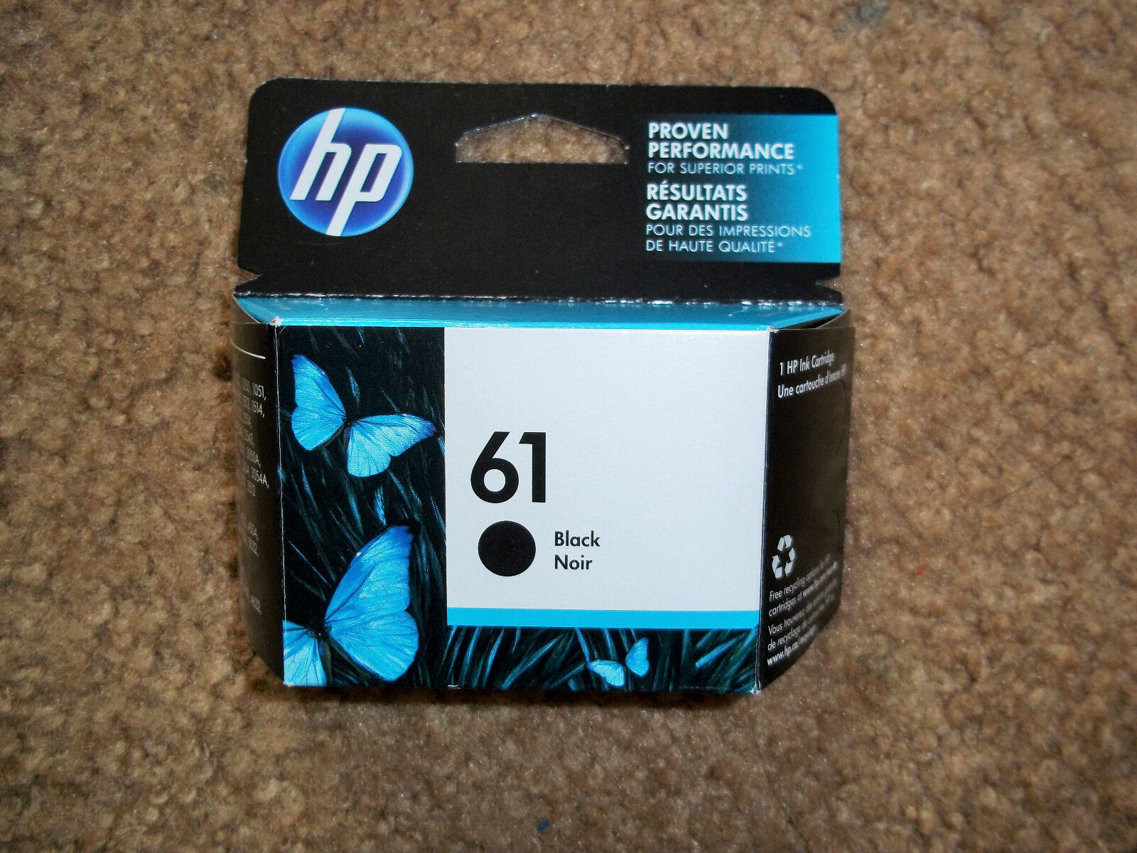 Купить HP - NEW HP GENUINE 61 CH561WN#140 Ink Cartridge BlacK,Exp June 2019 up, FAST SHIP