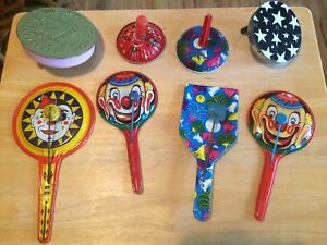 18 vintage New Year's Eve noise makers