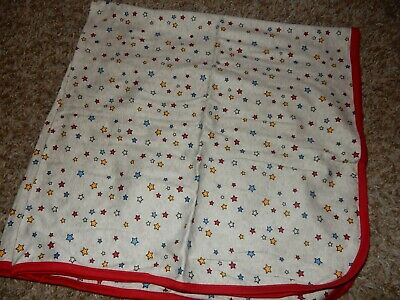 NWOT 30x30 The Children s Place STARS Receiving Baby Blanket Security Lovey 1ply - $29.99