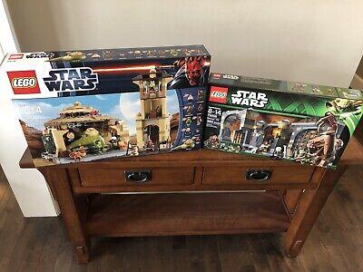 Lego Star Wars Jabba's Palace 9516 & Rancor Pit 75005, New & Sealed