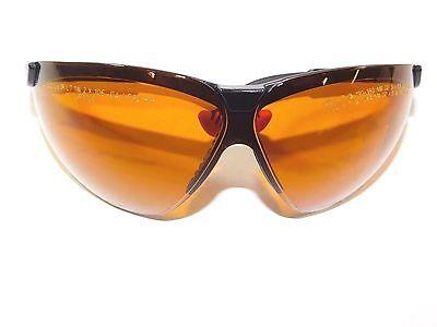 Uvex Honeywell Wraparound Uncoated Laser Safety Glasses 31-80155