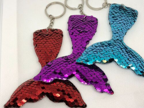 Key chains mermaid tail gift party favors guest prizes wedding You get 1 fun #52