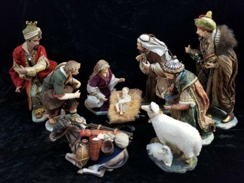 Members Mark Nativity Set Porcelain Statues Hand Painted Figurines Figures