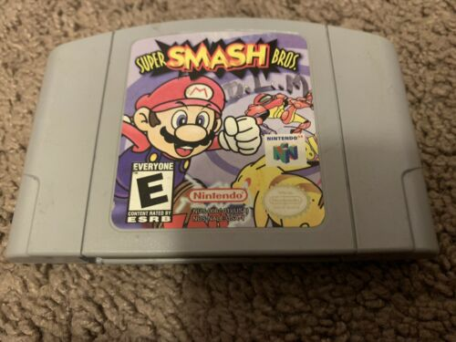 Super Smash Bros -- N64 -- Authentic And Tested Working - $39.99