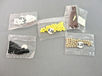 Acrylic Craft Felt Packages (✨ POM POMS 5MM 40 PER PACKAGE MINIATURE FELT BALL ACRYLIC DIY CRAFT 5 COLORS NIP )