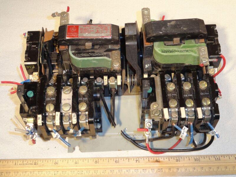 General Electric CR209S100AEA Motor Starter 200/230/460/575V 27A 15D21G2