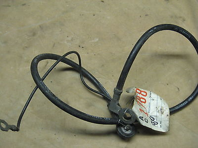 Corvette  OEM C-3 negative  battery cable out of 80