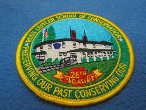 ROSS LEFFLER SCHOOL OF CONSERVATION HARRISBURG PENNSYLVANIA PA Police Patch ~