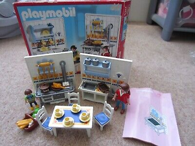 Playmobil Dolls House Kitchen Set 5317 Modern Victorian Mansion Complete Boxed