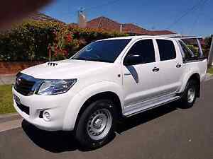 2013 hilux 4x4 Fawkner Moreland Area Preview