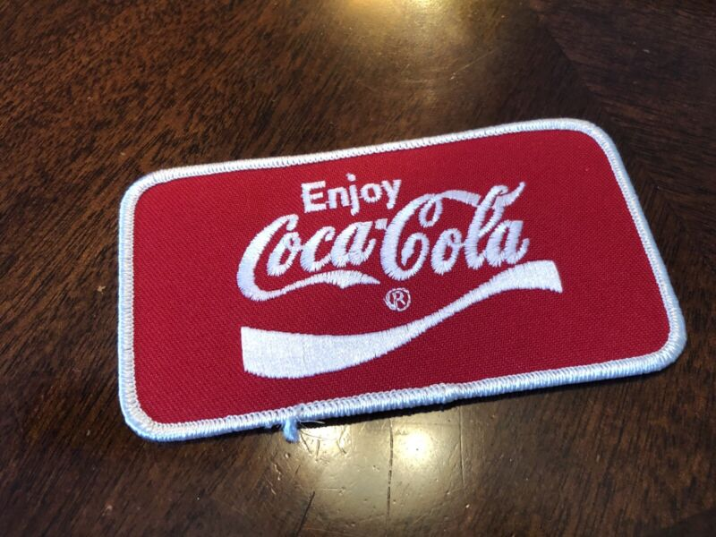 Vintage Coca-Cola Collectors Patch (Sew-On / Iron-On) Shirt Or Hat