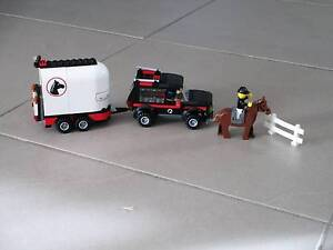 Lego City - horse float and car Nathan Brisbane South West Preview