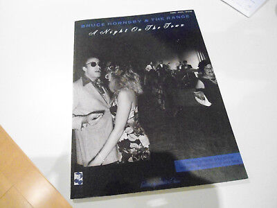 Bruce Hornsby NIGHT ON THE TOWN 1990 Piano Guitar SONGBOOK Rare out of print!