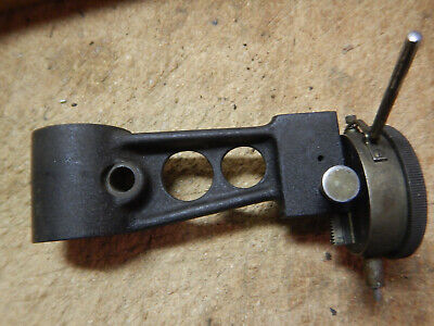 Older Dial Indicator Checker Arm With Starrett Dial Indicator