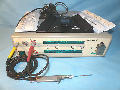 Linvatec D3000 Console With E9005 Small Joint Arthroscopy Shaver Handpiece