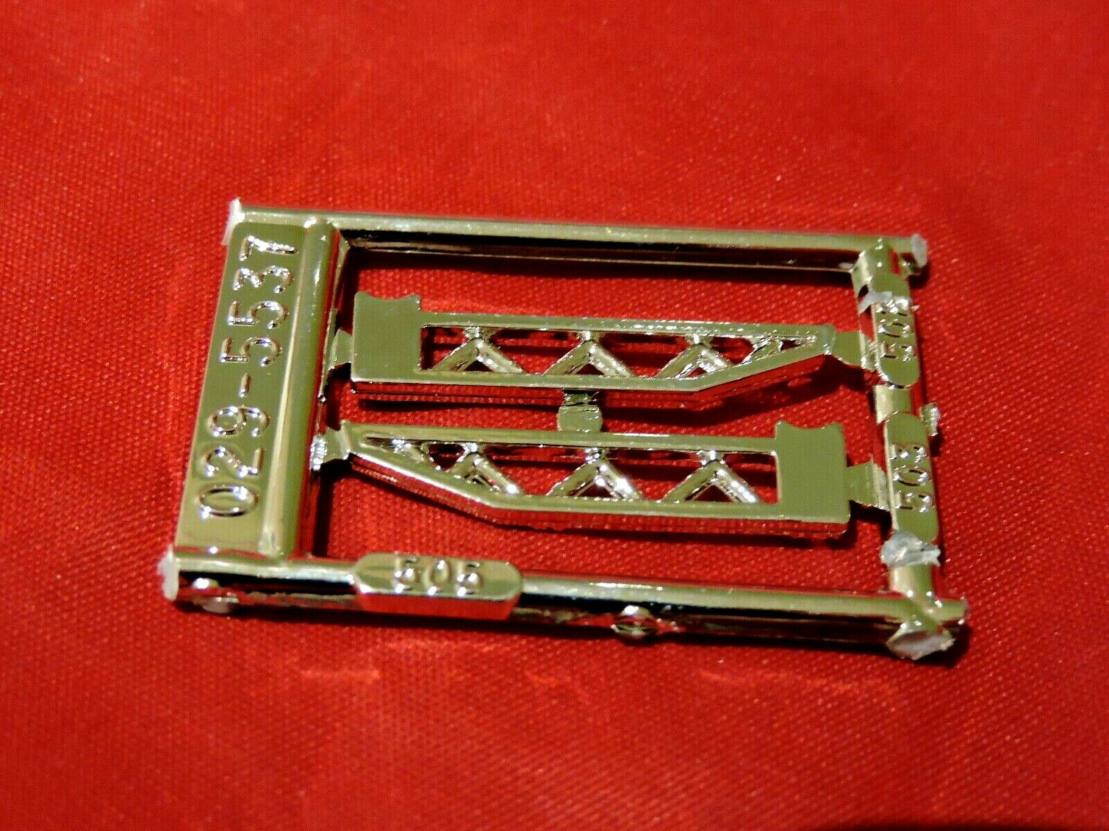 Car Parts - Model Car Parts AMT Chrome Traction Bars 1/25