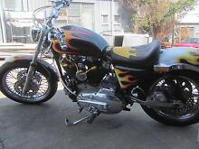 Custom Sportster Iron Head  Rebuilt and ready to Roll SWAP TRADE Kingston Logan Area Preview