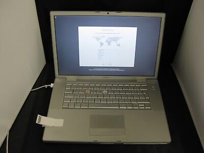 """Apple MacBook Pro MA895LL/A Core 2 Duo 2.2ghz 15"""" Mid-2007 READ CAREFULLY QD0058"""