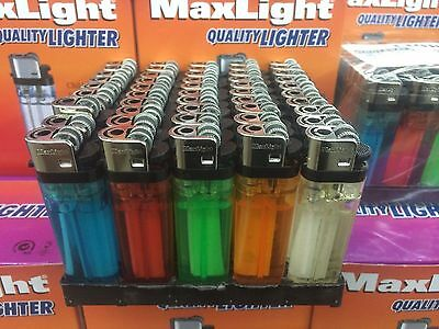 WHOLESALE LOT OF 100 NEW DISPOSABLE CIGARETTE LIGHTERS REGULAR CLASSIC STYLE