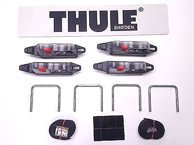 THULE EASY-SNAP ROOF BOX FITTING CLAMPS 10739 WILL ALSO FIT KARRITE & HALFORDS