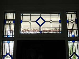 I Make Traditional/Modern Leadlight Stained Glass Panels Oakbank Adelaide Hills Preview