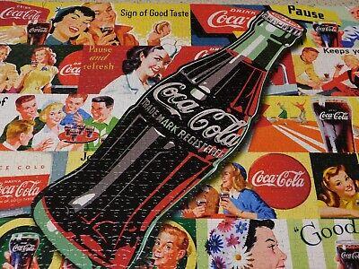 Coca Cola Jigsaw Puzzle 1000 pieces Vintage Billboard Signs Buffalo