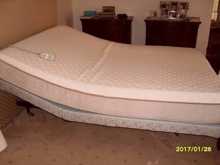 * PLEGA  Electric bed queen size base head raise feet raise
