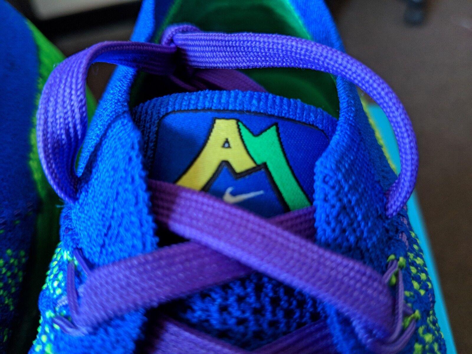 c918e8565a Nike Air Vapormax Flyknit DB Doernbecher Andrew Merydith Green Blue AH6893- 300 . ...