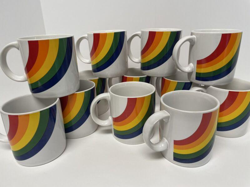 VTG Rainbow GAY PRIDE MUG Coffee Cup FTDA 1984/1986 & Especially for You-Korea