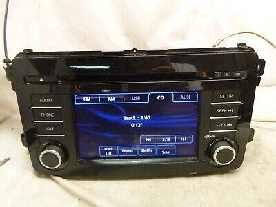 13 14 15 Mazda CX-9 CX9 Radio Cd Gps Navigation TK2166DV0C ARE15