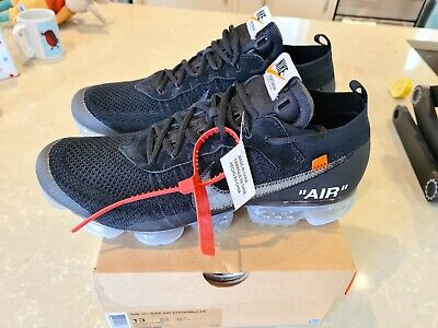 Off White Vapormax UK12. Perfect condition. Never worn. Proof of purchase