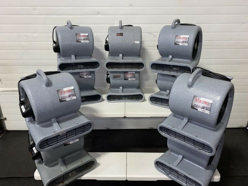 Used Viking 2200-EX Air Movers With GFCI