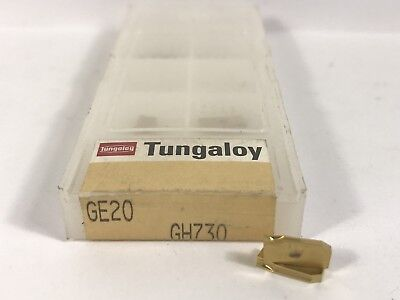 Tungaloy Ge20 New Carbide Inserts Grade Gh730 7pcs Ar