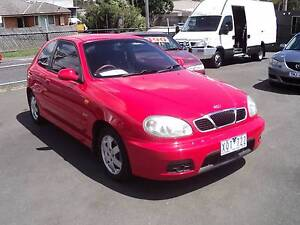 2001 Daewoo Lanos Hatchback Ferntree Gully Knox Area Preview