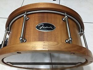 Fidock 14 x 6.5 Blackwood with wood hoop snare drum great condition Sunnybank Hills Brisbane South West Preview