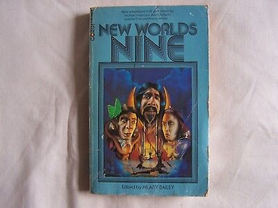 NEW WORLDS NINE Edited By Hilary Bailey CORGI PAPERBACK 1975 Aldiss Moorcock etc