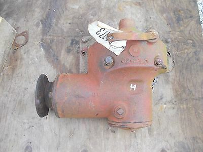 Farmall H Hv Early Sh Tractor Ih Ihc Belt Pulley Drive Assembly - Engage Linkage
