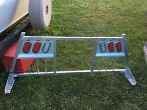Headache rack, running boards and hitch for sale