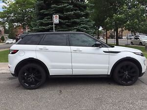 2014 Range Rover Evoque Dynamic black pack