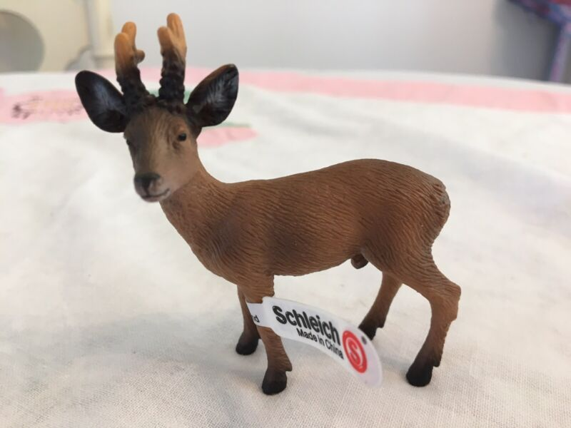 Schleich  ROEBUCK  DEER   #14379  Buck  New with Tag  Retired