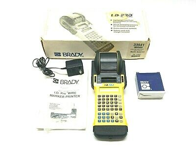Brady 33941 Id Pro Wired Marker Printer With One Roll 32415 Labels