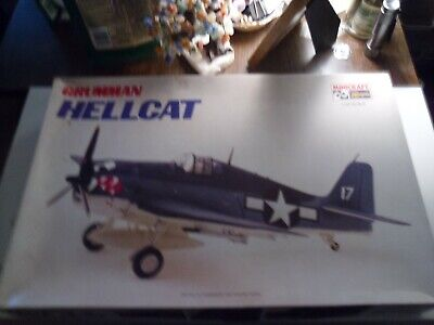 Hasegawa/Minicraft Grumman F6F-3/-5 Hellcat In 1/32 Scale-VF-17 Edition-Look! for sale  Jonesboro
