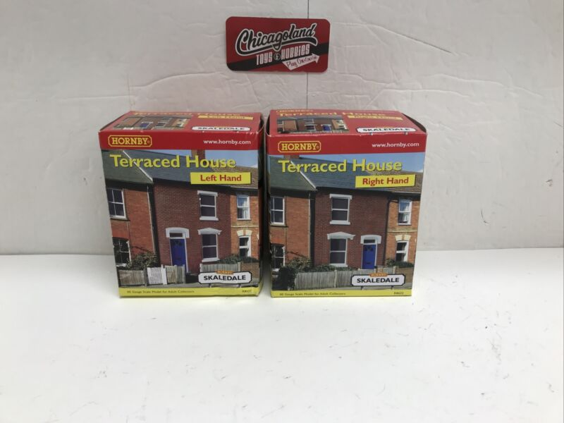 Hornby Skaledale R8621/R8622 OO Left & Right Terraced House