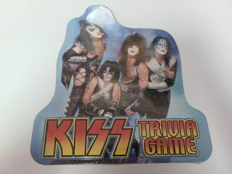 Kiss The Trivia Game 2003 Sealed Tin