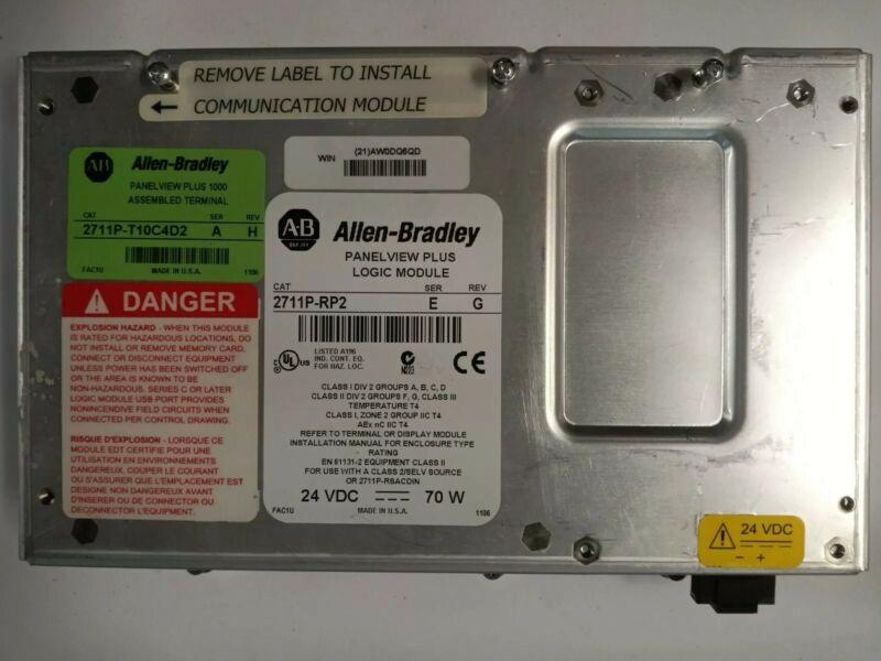 New Allen Bradley 2711P-RP1 Ser E  Panelview Plus Logic Module