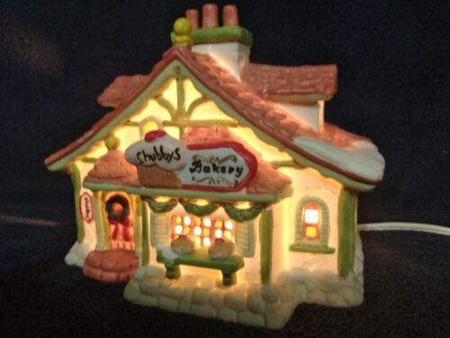 Vintage Santakins Village Chubby