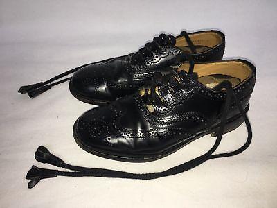 Ex hire Boys Kilt Ghillie Brogues. SCOTTISH KILT SHOES SALE, Junior kilt shoes - Boys Dress Shoes Sale