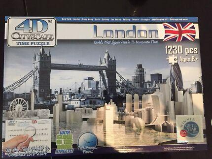 4D city scapes London puzzle rrp$60