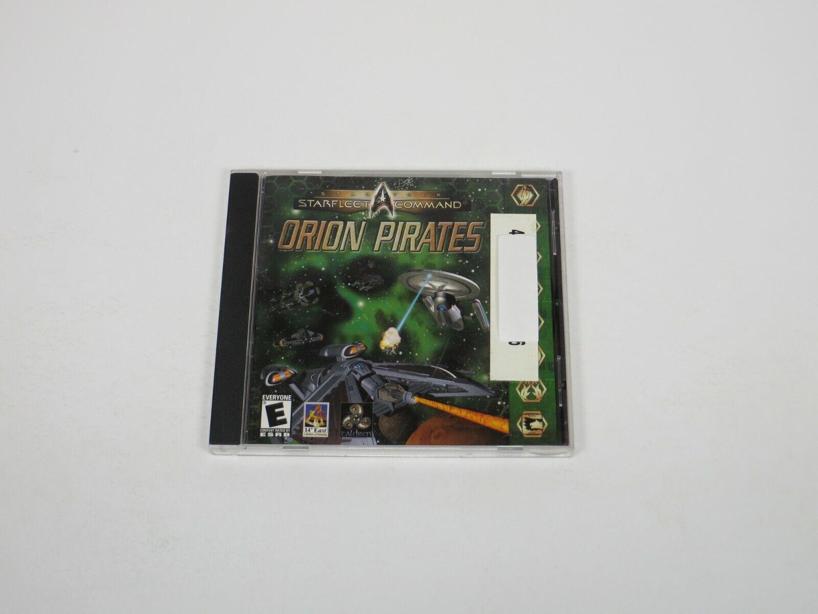 Computer Games - Star Trek: StarFleet Command Orion Pirates (PC, 2001) PC Computer Game Interplay
