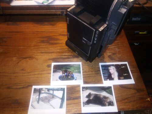 COMPLETELY REVERSIBLE Polaroid 110-110B, 120 to Instax wide conversion kit!!!